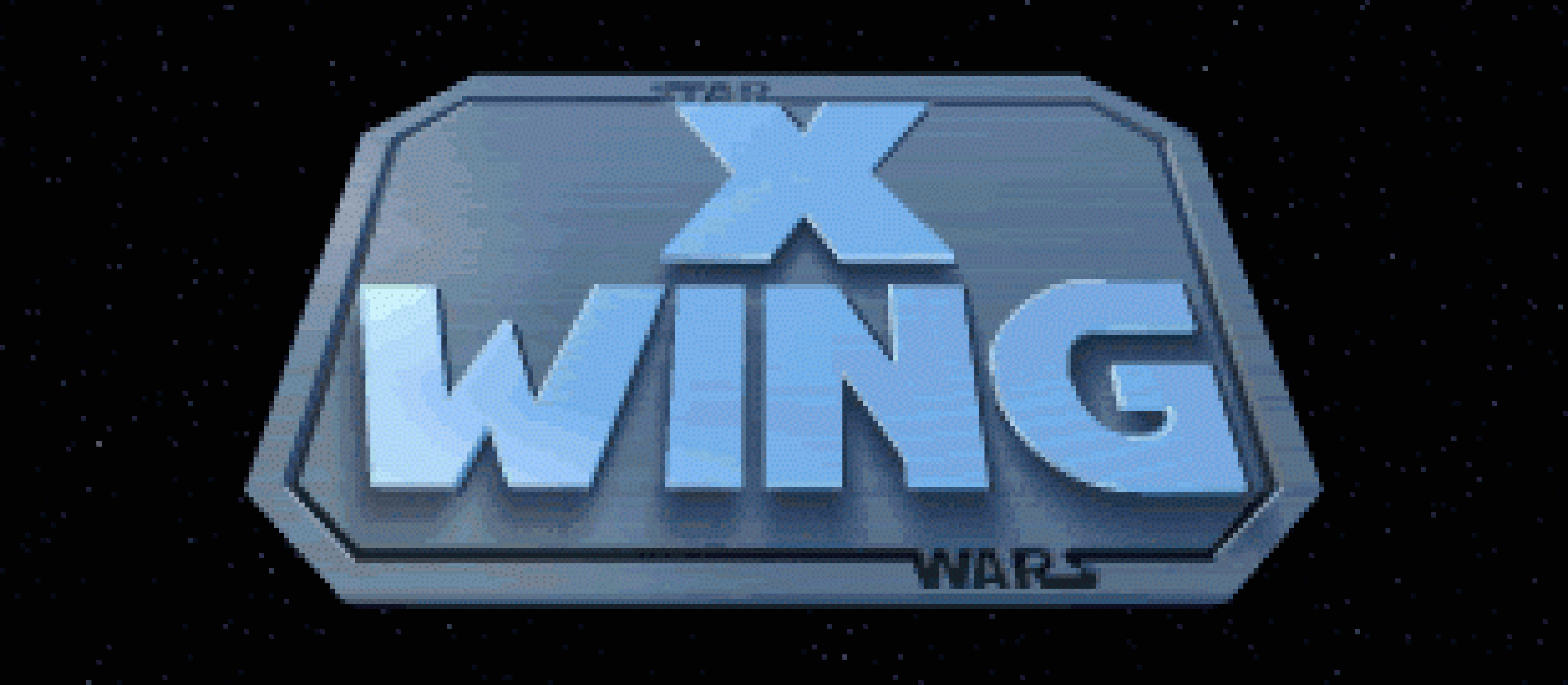 The title screen of Star Wars: X-Wing.
