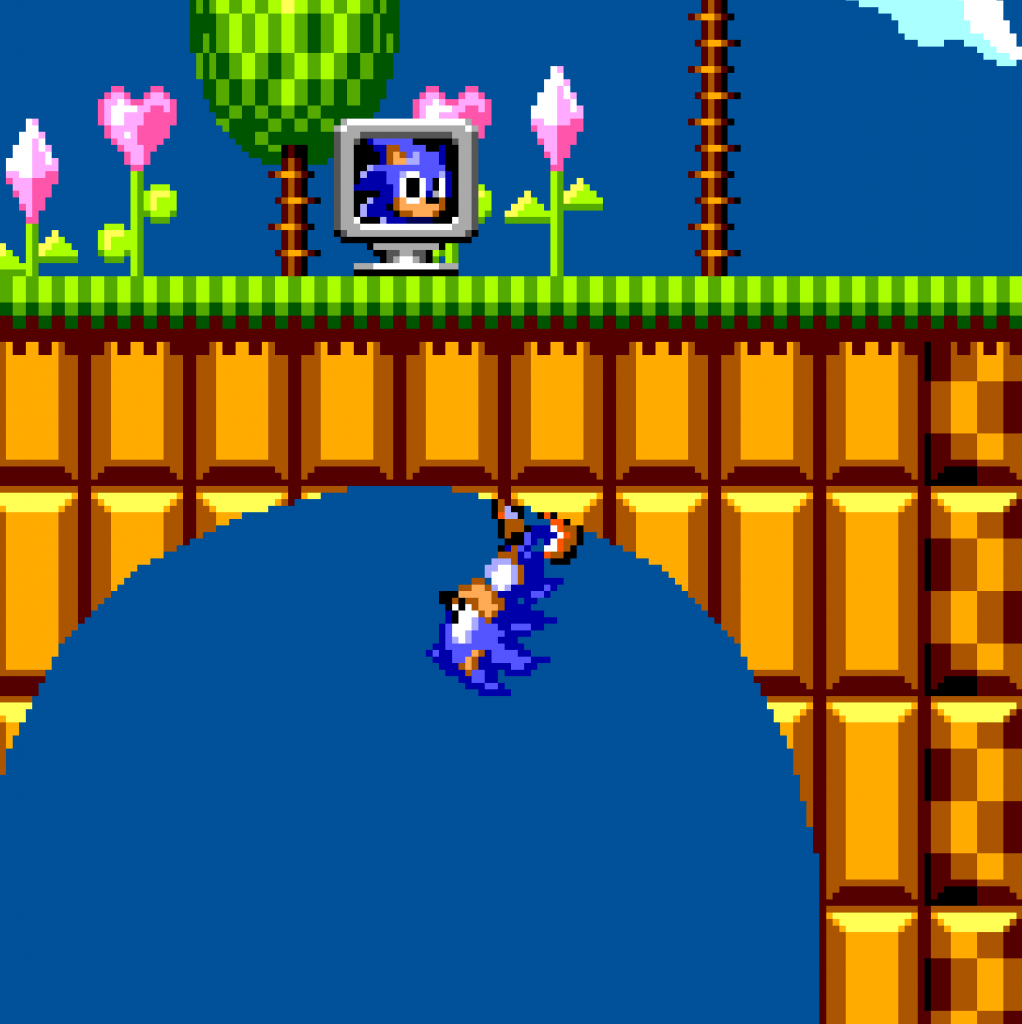 Sonic the Hedgehog 2 on the Master System.