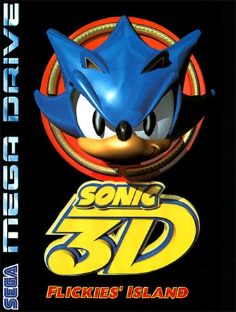 Sonic 3D's case in the UK.