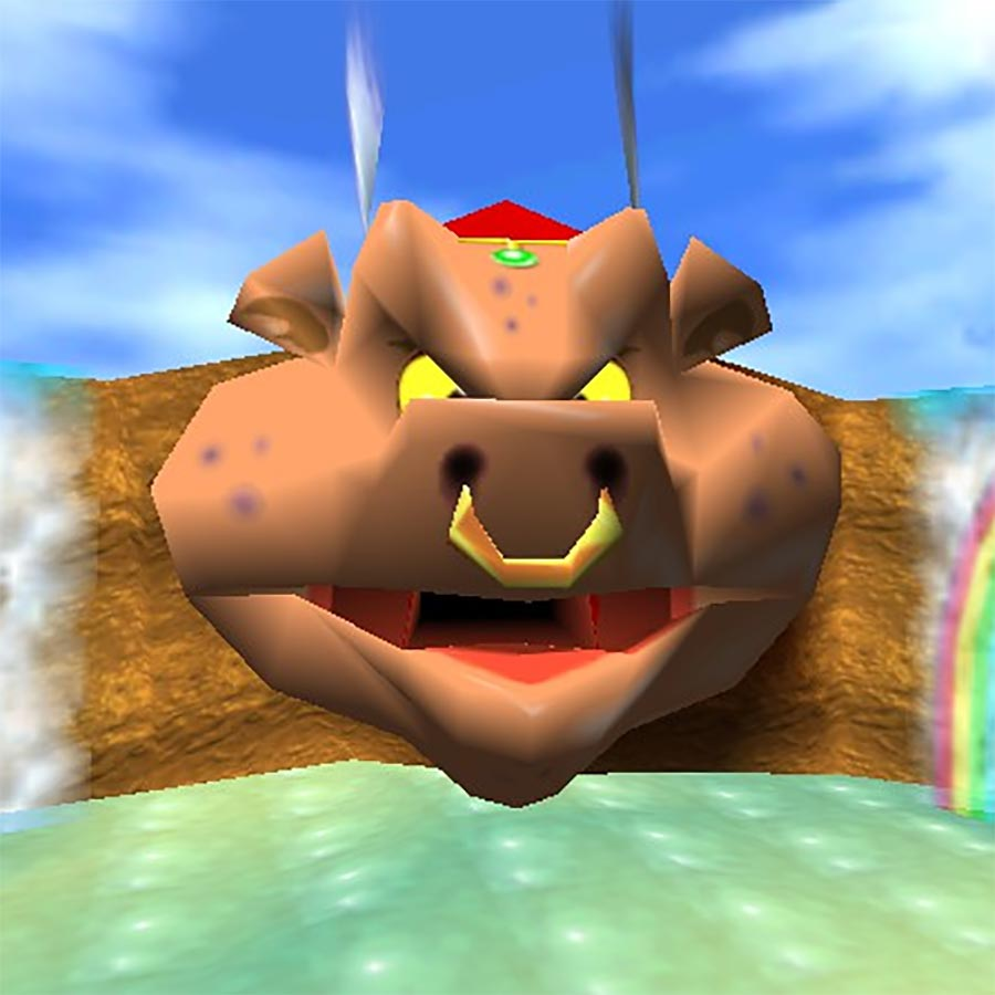 Wizpig from Diddy Kong Racing.