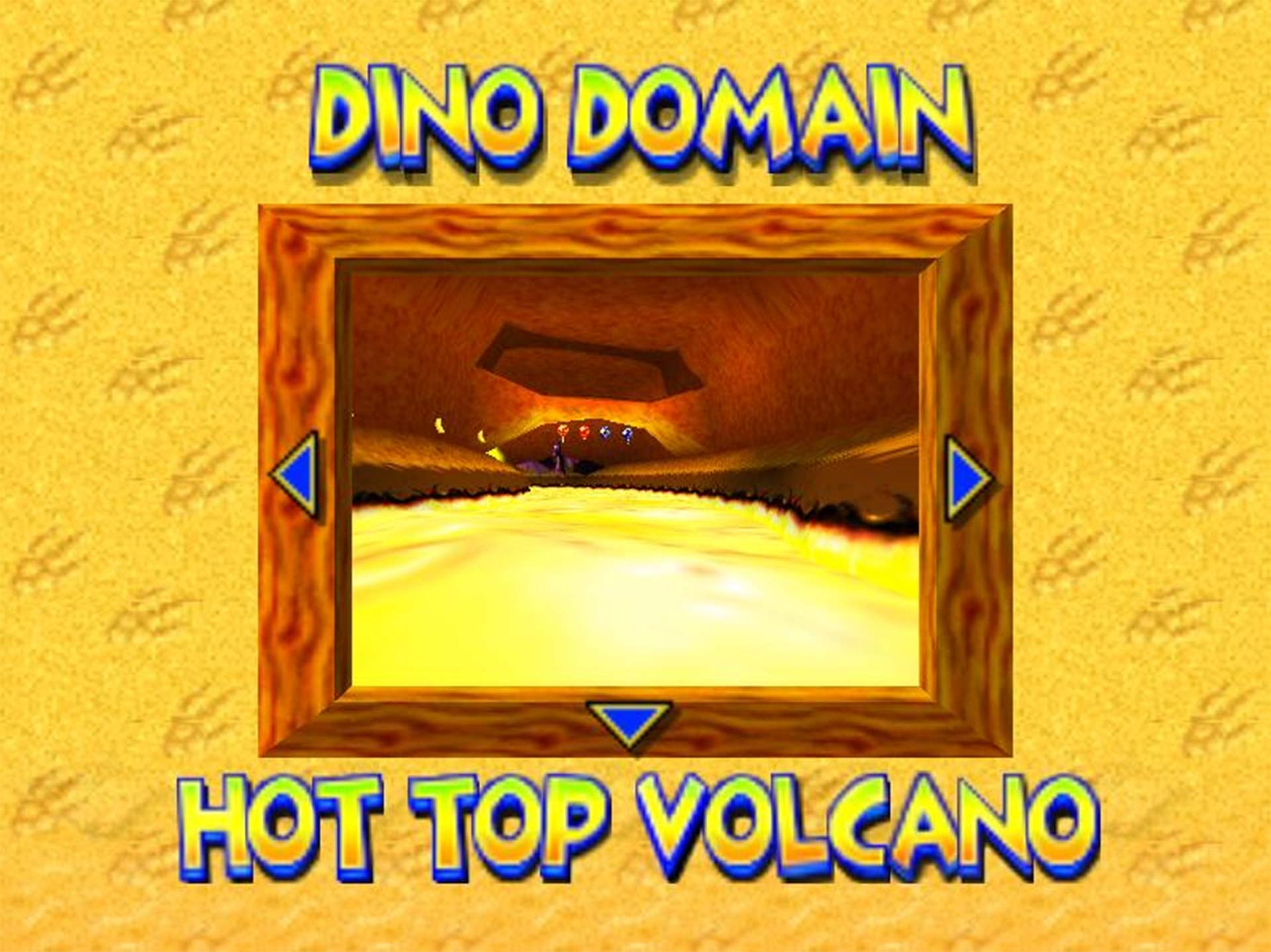 Hot Top Volcano, from Diddy Kong Racing.