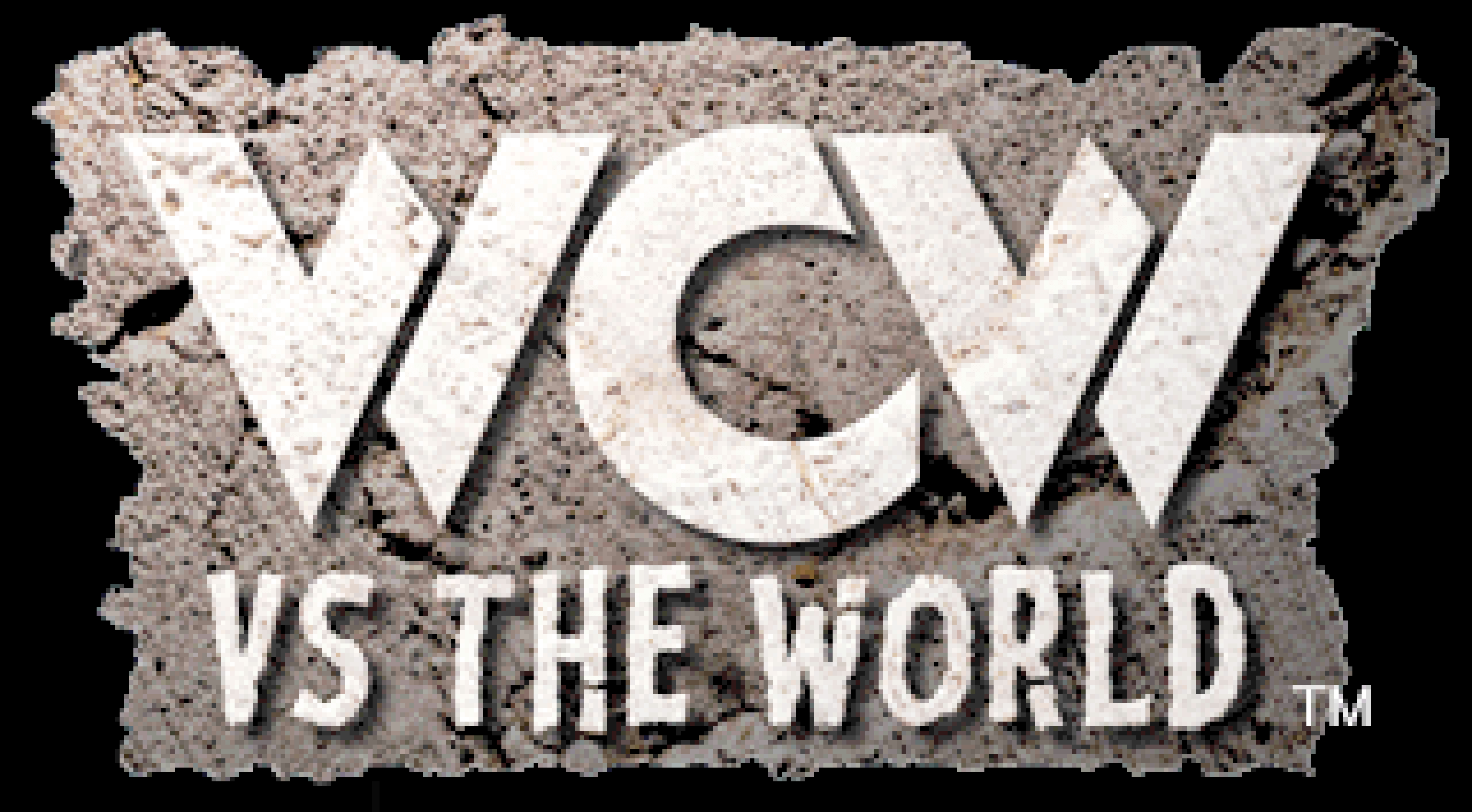 The title image for WCW vs the World.