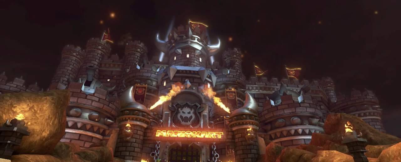 Bowser's Castle (MK8)