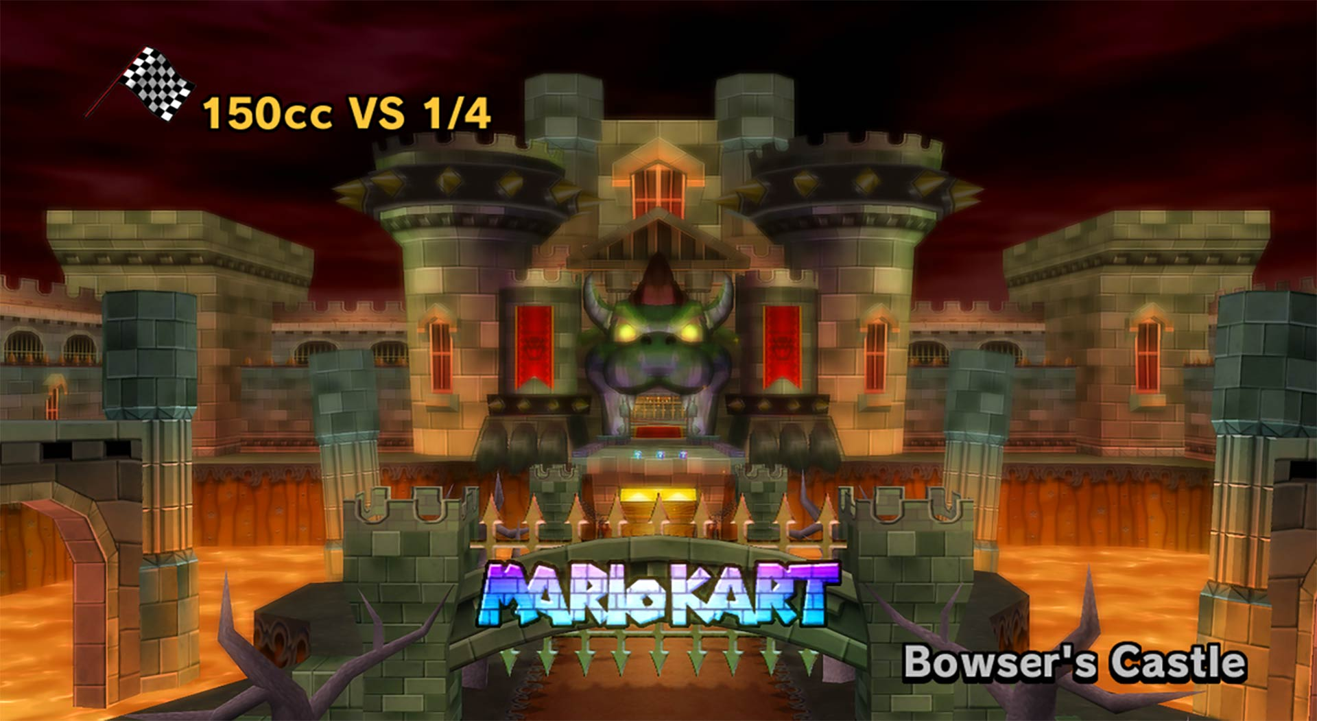 Bowser S Castle Mario Kart 8 Gametripper Retrospective