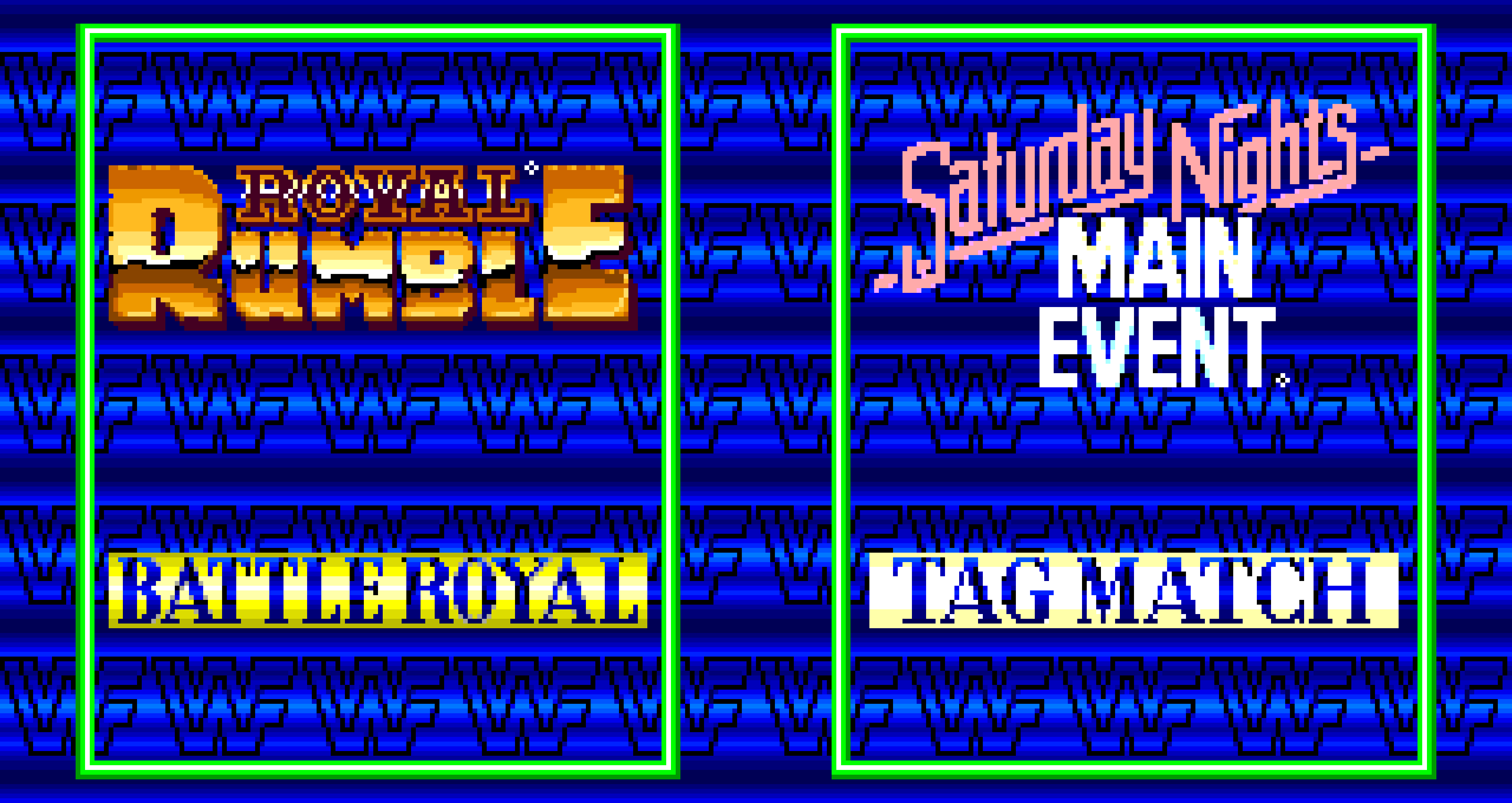 Events of WWF WrestleFest.