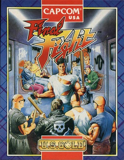 Final Fight's Spectrum cover.