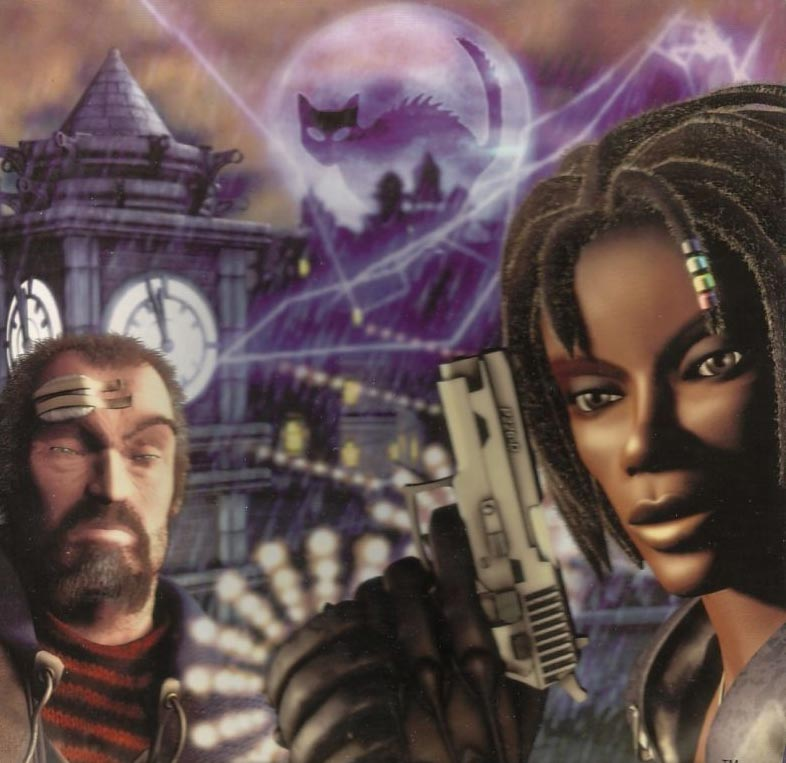 The promotional art for Urban Chaos.