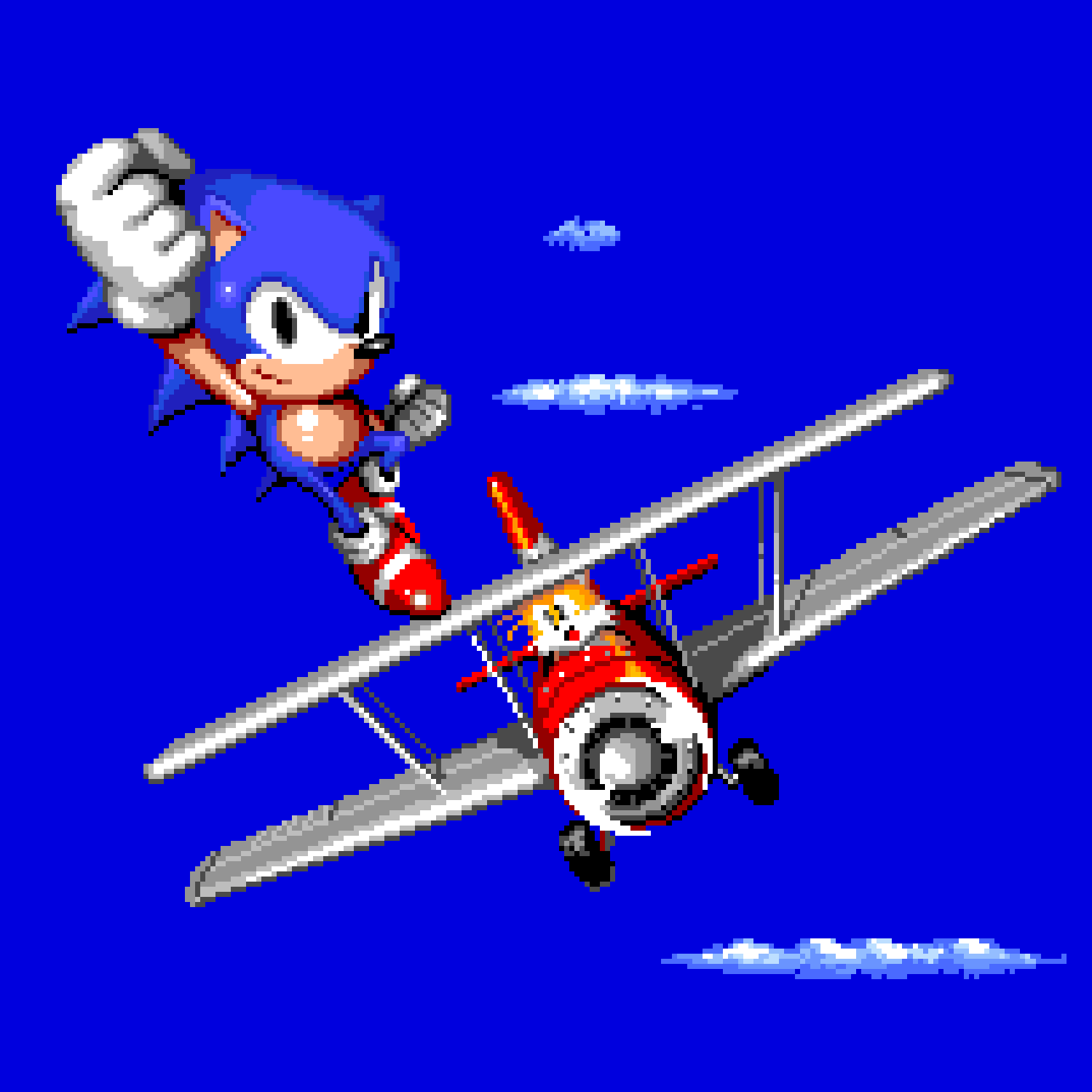 Sonic the Hedgehog 2 - Ending (square)
