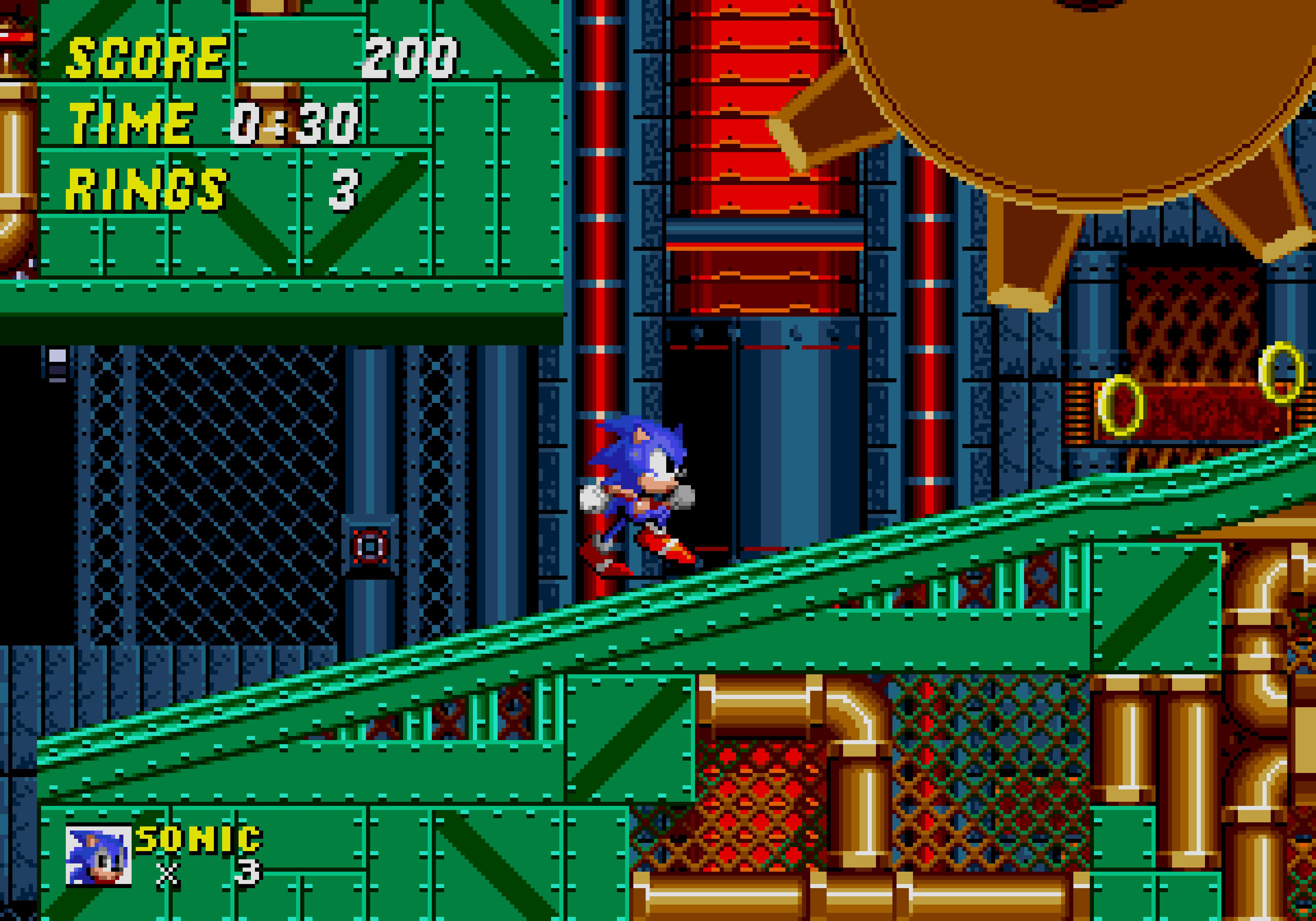 Sonic 2's Metropolis Zone