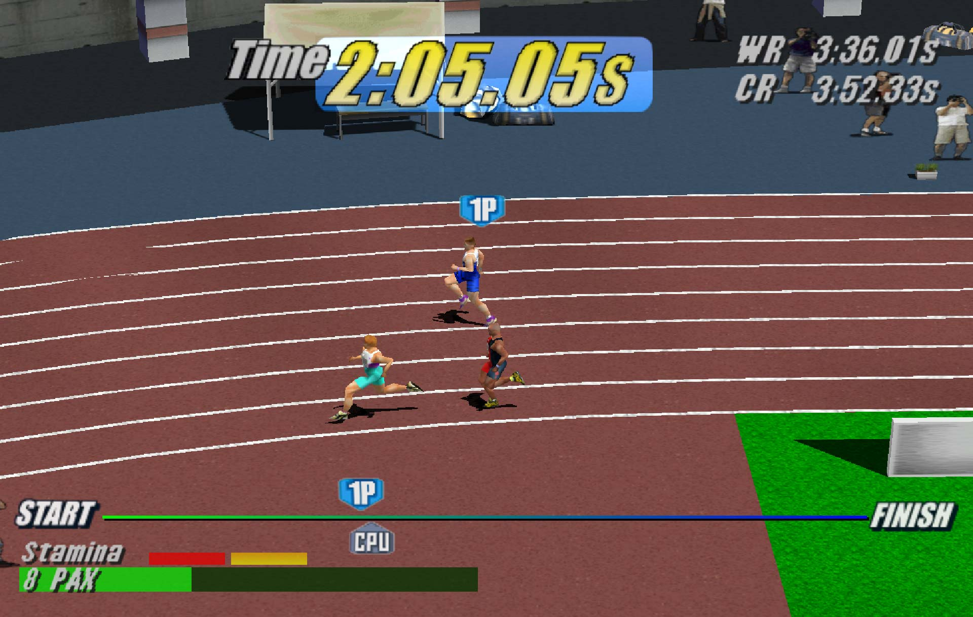 Virtua Athlete 2K 1500 metres