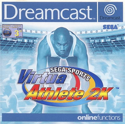 Virtua Athlete 2K Dreamcast cover art