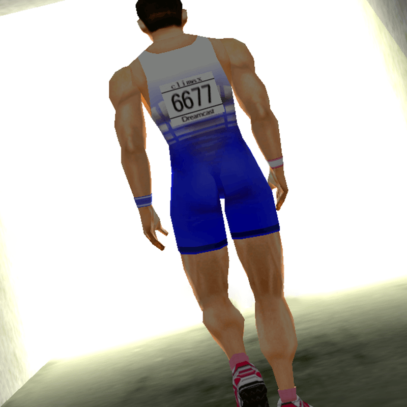 In the tunnel in Sega's Virtua Athlete 2K