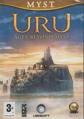 Cover art for Uru Ages Beyond Myst on PC