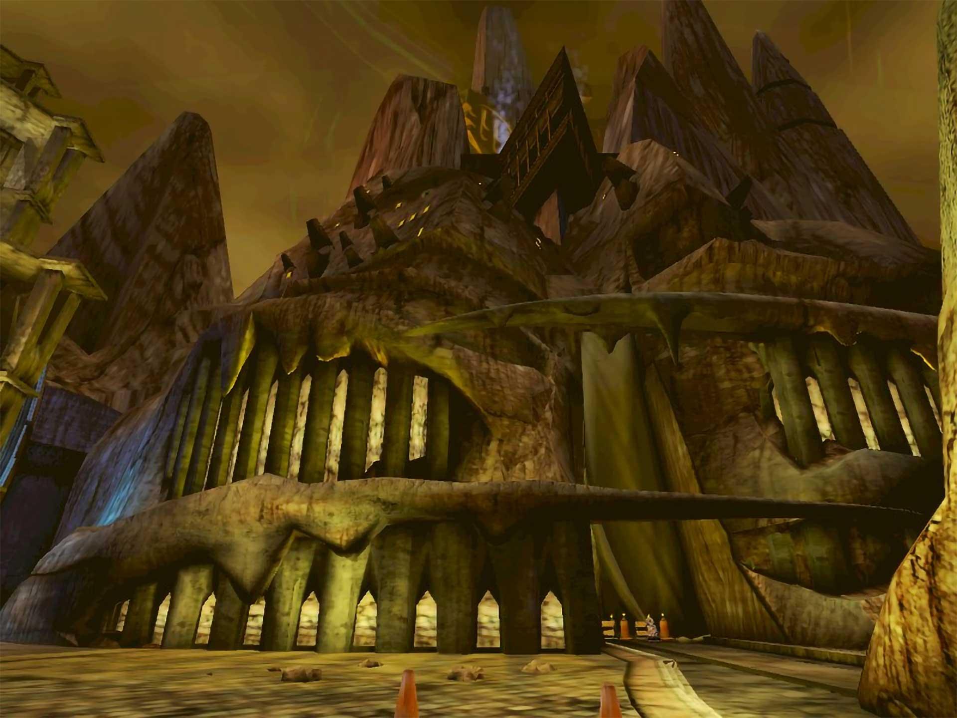 Uru's Library of D'Ni.