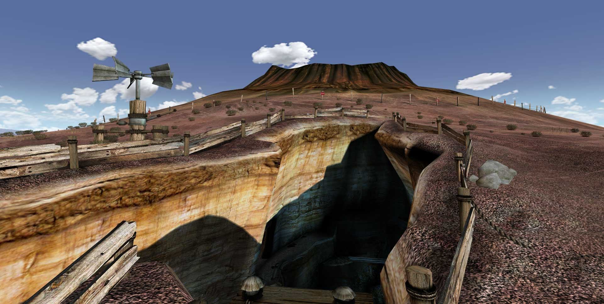 The Cleft in Uru: Ages Beyond Myst