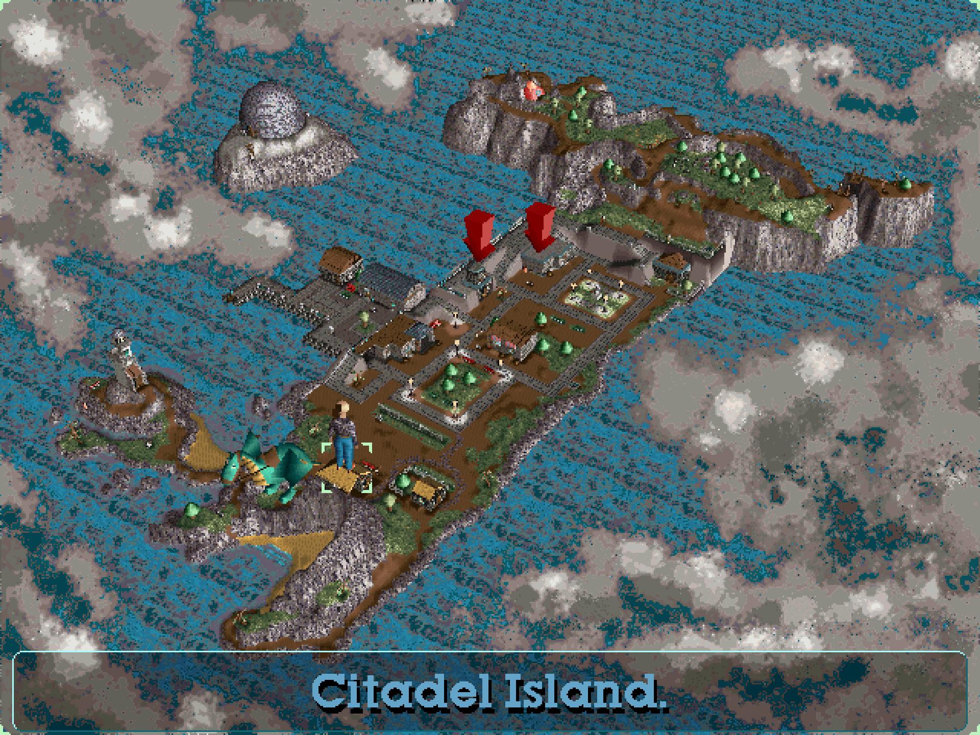 Citadel Island in Little Big Adventure 2.