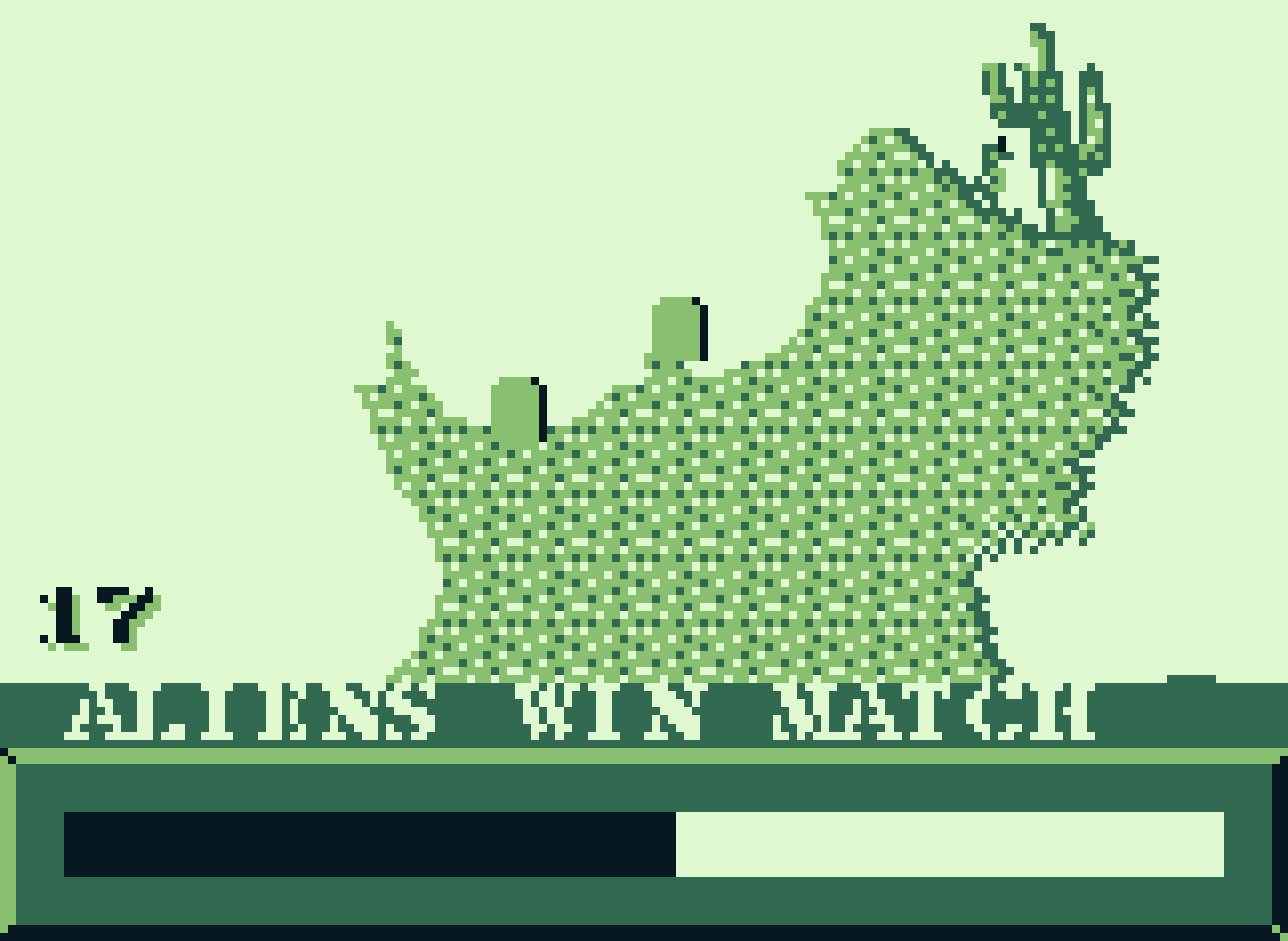 Team Aliens wins the match in Game Boy Worms