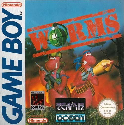 Worms on Game Boy cover art PAL