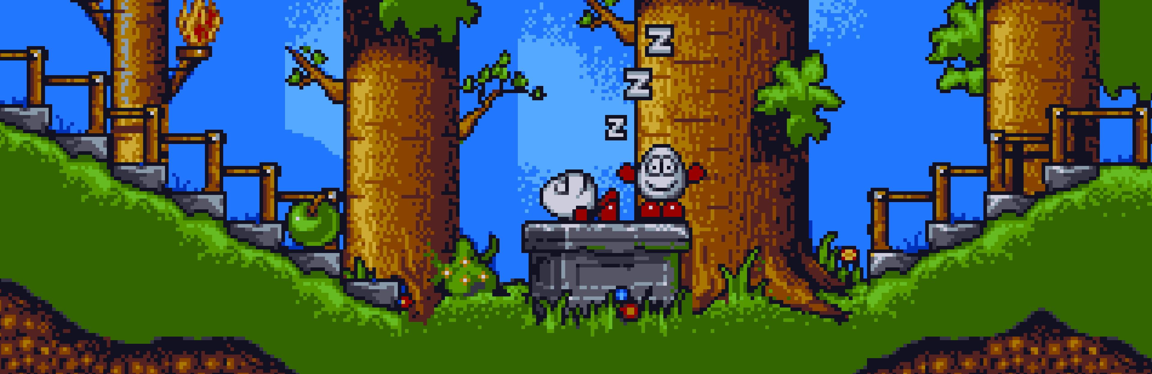 Dizzy sleeping in Magicland Dizzy