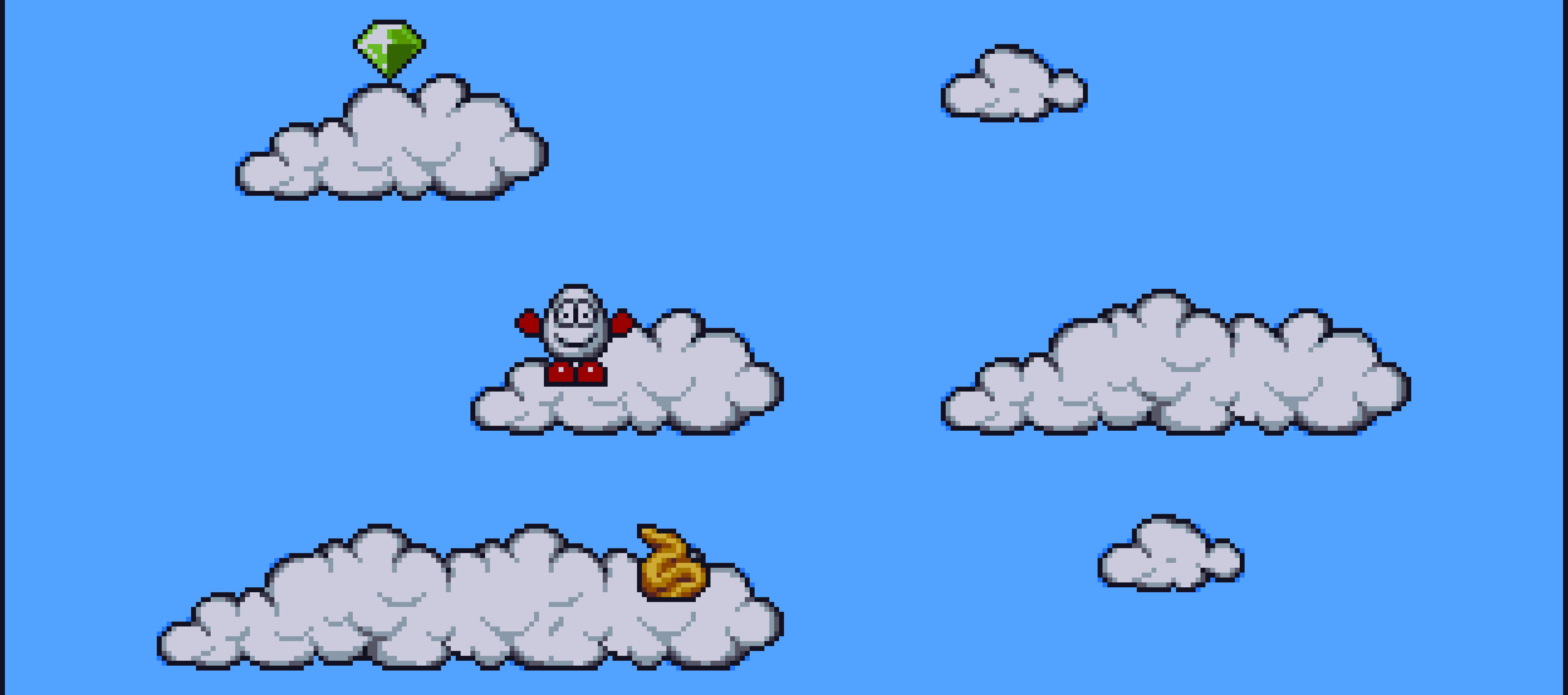 Clouds in Magicland Dizzy