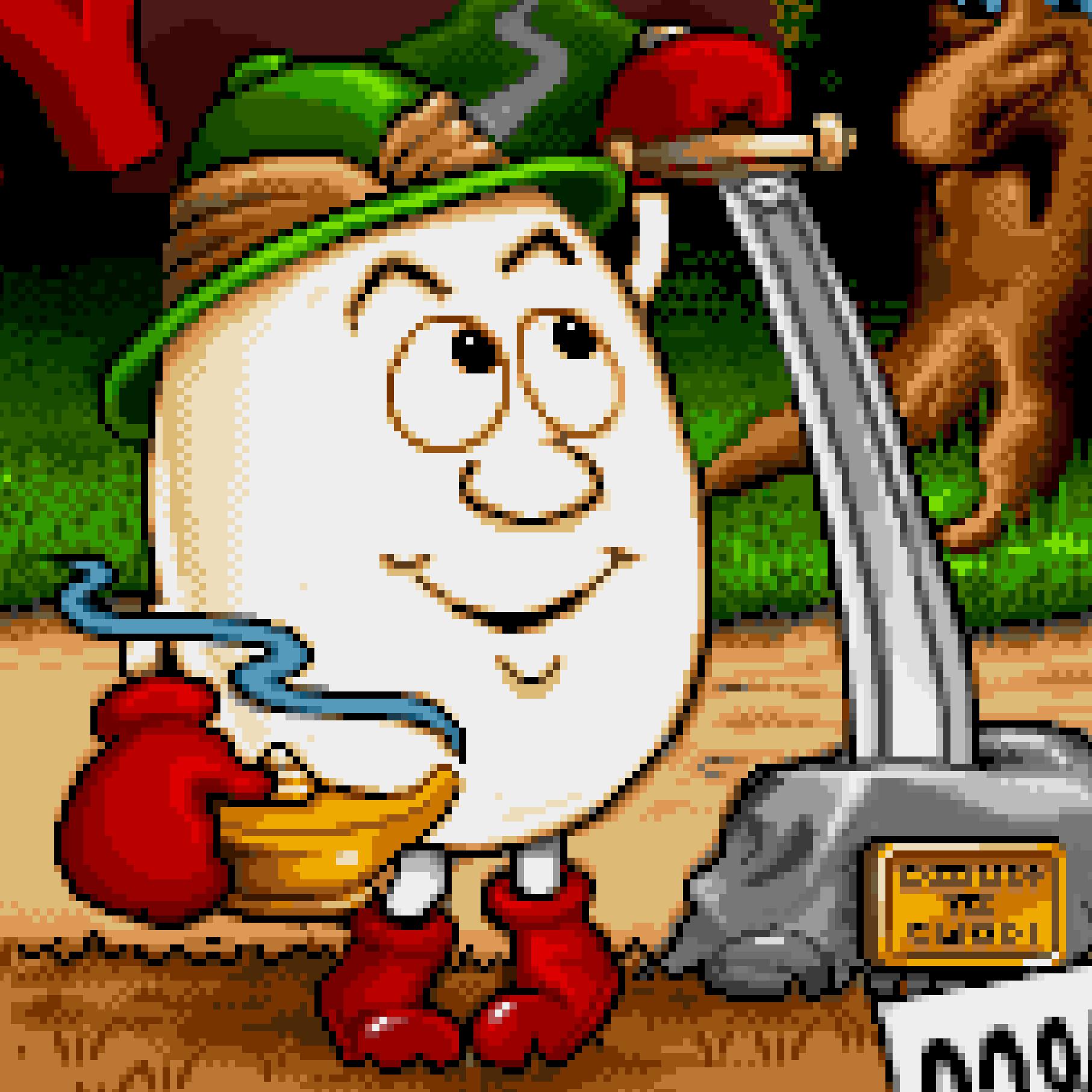 Magicland Dizzy on the Amiga - title screen