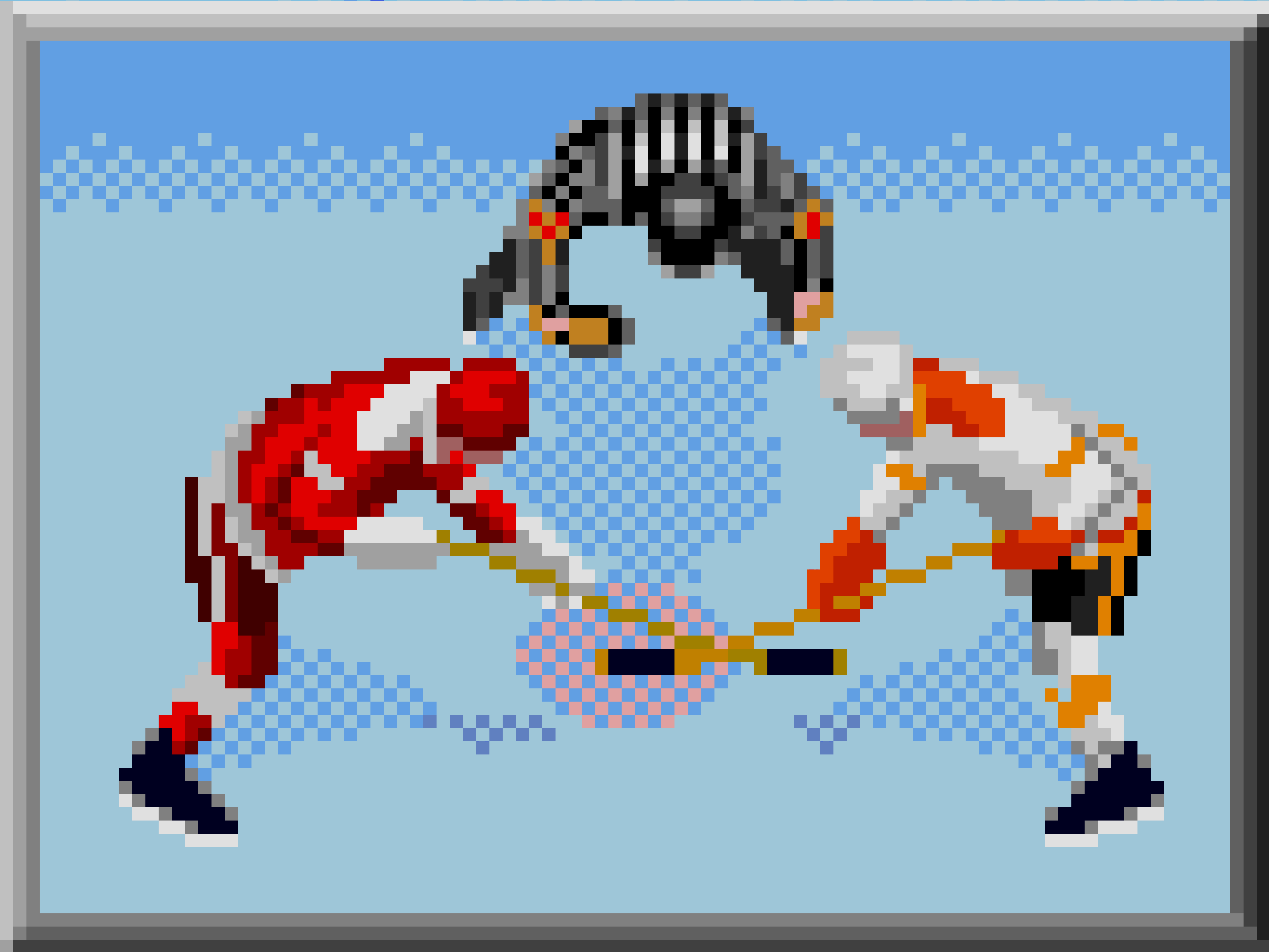 Face off in NHL 97