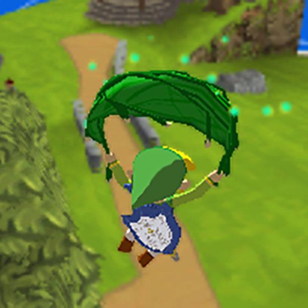 The Legend of Zelda - The Wind Waker deku leaf