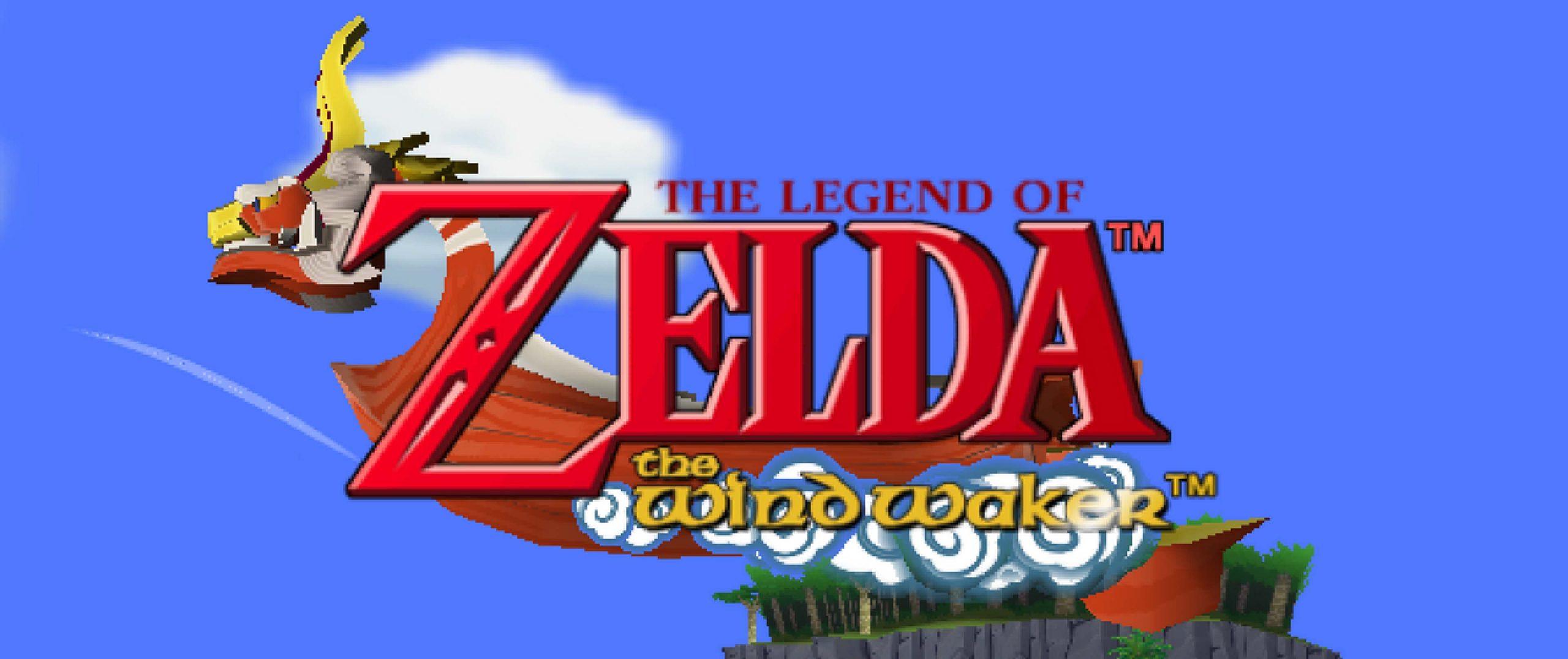 The Legend of Zelda - The Wind Waker - Title screen